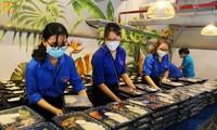 Bếp ăn thanh niên trên địa bàn Hà Nội nấu hơn 3.500 suất ăn mỗi ngày tiếp sức người nghèo trong dịp lễ 2/9