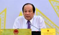 Bộ trưởng Chủ nhiệm VPCP Mai Tiến Dũng