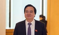 Bộ trưởng GD&ĐT Phùng Xuân Nhạ. Ảnh Như Ý