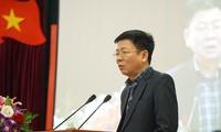 Ông Nguyễn Văn Tùng, Vụ trưởng Vụ tổ chức – Điều lệ, Ban Tổ chức Trung ương