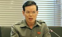Phó Trưởng Ban Kinh tế Trung ương Triệu Tài Vinh. Ảnh Như Ý