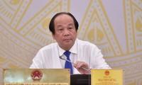 Bộ trưởng Chủ nhiệm Văn phòng Chính phủ Mai Tiến Dũng