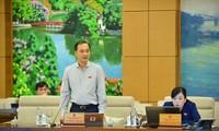 Chủ nhiệm Uỷ ban Kinh tế Vũ Hồng Thanh. Ảnh Như Ý