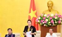Thường vụ sẽ cho ý kiến về dự thảo Nghị quyết của Quốc hội về thí điểm không tổ chức Hội đồng nhân dân tại các phường thuộc quận, thị xã của Hà Nội.