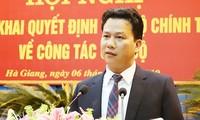 Bí thư Hà Giang Đặng Quốc Khánh làm trưởng đoàn ĐBQH
