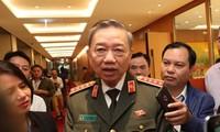 Đại tướng Tô Lâm, Bộ trưởng Bộ Công an. Ảnh Như Ý