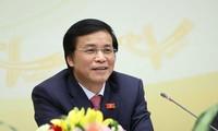 Tổng thư ký Quốc hội Nguyễn Hạnh Phúc. Ảnh Như Ý
