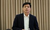 Thứ trưởng Bộ Giao thông Nguyễn Ngọc Đông. ẢNH: M. Thắng