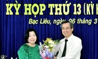 Bà Cao Xuân Thu Vân được bầu giữ chức Phó Chủ tịch HĐND tỉnh Bạc Liêu