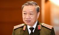 Bộ trưởng Bộ Công an, Đại tướng Tô Lâm