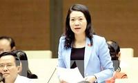 Đại biểu Quốc hội Mai Thị Phương Hoa, Uỷ viên Thường trực Uỷ ban Tư pháp