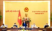 Chủ tịch Quốc hội phát biểu tại phiên họp Ủy ban Thường vụ
