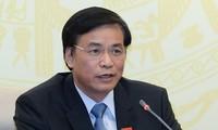 Tổng Thư ký Quốc hội, Chủ nhiệm Văn phòng Quốc hội Nguyễn Hạnh Phúc