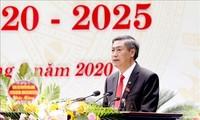 Ông Nguyễn Hữu Đông, Ủy viên dự khuyết Ban Chấp hành Trung ương Đảng, Bí thư tỉnh ủy khóa XIV được tín nhiệm bầu giữ chức Bí thư tỉnh ủy khóa XV, nhiệm kỳ 2020-2025.