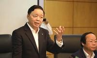 Bộ trưởng TN&MT Trần Hồng Hà. Ảnh PV