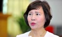 Bà Hồ Thị Kim Thoa, cựu Thứ trưởng Bộ Công Thương