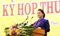 Chủ tịch Quốc hội Nguyễn Thị Kim Ngân. Ảnh ND