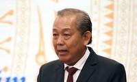 Phó Thủ tướng Thường trực Chính phủ Trương Hòa Bình. (Ảnh: TTXVN)