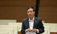 Đại biểu Bùi Văn Xuyền, Ủy viên Thường trực Ủy ban Pháp luật của Quốc hội