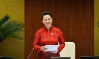 Chủ tịch Quốc hội, Chủ tịch Hội đồng bầu cử quốc gia Nguyễn Thị Kim Ngân