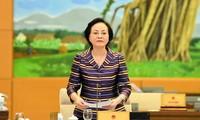 Bộ trưởng Bộ Nội vụ Phạm Thị Thanh Trà. Ảnh QH