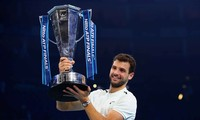 Grigor Dimitrov lần đầu vô địch ATP Finals