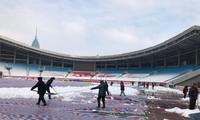 Sân Thường Châu chạy đua với thời gian trước chung kết U23 châu Á