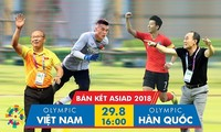 Xem Olympic Việt Nam đấu Hàn Quốc trên kênh nào nhanh nhất?
