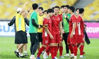 Đối thủ của tuyển Việt Nam ở trận tranh ngôi vương là tuyển Malaysia.