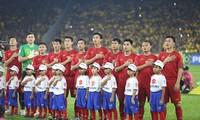 Đội hình xuất phát của tuyển Việt Nam. Ảnh: Vietnamnet