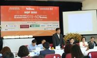 Ông Phan Thanh Sang - Phó Giám đốc Sở Văn hóa-Thể thao Bà Rịa Vũng Tàu tại buổi họp báo sáng nay.