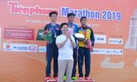 ĐKVĐ marathon nam Bùi Thế Anh bảo vệ thành công ngôi vô địch marathon nam