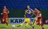 Trận đấu giữa B.Bình Dương vs CLB Hà Nội. Ảnh: Zing