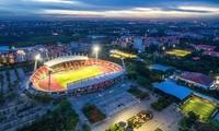 Sân Thammasat nhìn từ trên cao