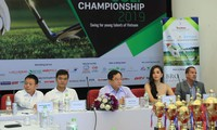 Giải Tiền Phong Golf Championship 2019 là sự kiện thể thao do báo Tiền Phong tổ chức nhân dịp chào mừng kỷ niệm 66 năm thành lập Báo Tiền Phong xuất bản đầu tiên (16/11/1953 - 16/11/2019), Ảnh: Như Ý