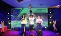 Golfer Nguyễn Vũ Quốc Anh đã trở thành nhà tân vô địch Tiền Phong Golf Championship mùa thứ ba. Ảnh: Như Ý