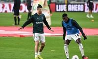 Matuidi bất ngờ chiến thắng Ronaldo trong thử thách gập bụng