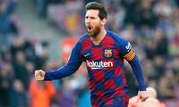 Messi kiếm tiền giỏi nhất trong giới cầu thủ ở năm 2020.