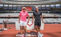 Federer đăng tấm hình anh chụp chung với Nadal