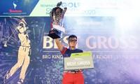 Golfer Nguyễn Nhất Long đã trở thành nhà tân vô địch của Tiền Phong Golf Championship 2020. Ảnh: Như Ý