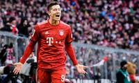 Lewandowski là Vua phá lưới ở mọi giải đấu mà Bayern góp mặt trong năm 2020.