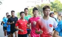 Đoàn Quân đội 'rèn quân' sẵn sàng tranh tài tại Tiền Phong Marathon 2021