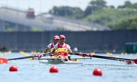Rowing Việt Nam mất suất dự bán kết môn rowing tại Olympic Tokyo 2020