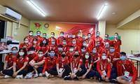 Các thành viên Đoàn TTVN dự Olympic Tokyo 2020 ảnh Thu Sâm/Đoàn TTVN