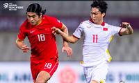 ĐT Việt Nam thua Trung Quốc ở phút bù giờ ở lượt trận trước