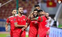 ĐT Oman ăn mừng chiến thắng
