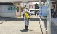 Khử khuẩn tại bệnh viện Lê Lợi- TP Vũng Tàu ngày 27.3