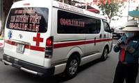 Gọi cấp cứu 115 TPHCM nhưng xe tư nhân đến chuyển bệnh