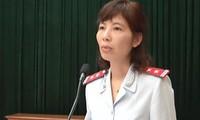 Bà Nguyễn Thị Kinh Anh.