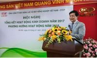 Ông Trần Ngọc Hà khi còn đương chức ở VEAM